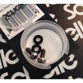Schelle Racing Titanium Motor Screws, 7mm