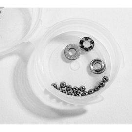 """Schelle Racing SCH1084 3/32"""" Tungsten Carbide and Ceramic Thrust Set (14)"""