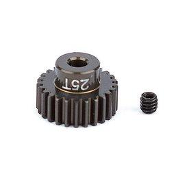 Team Associated ASC1343 FT Aluminum Pinion Gear, 25T 48P, 1/8 shaft