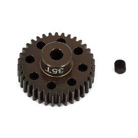 Team Associated FT Aluminum Pinion Gear, 35T 48P, 1/8 shaft