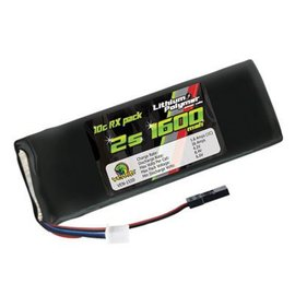 VENOM 10C 2S 1600MAH 7.4V LIPO RECEIVER FLAT BATTERY PACK
