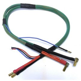 "Trinity 24"" Pro Hi-Amp Cable Set w/Green Loom"