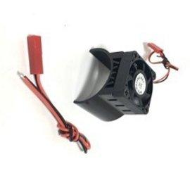 APS Racing APS Motor Heatsink W/High Power Top Fan For 540 Motor Black