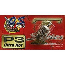 "OS Engines OS P3 Turbo Glow Plug ""Ultra Hot"""