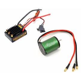Castle Creations Sidewinder 3 WP Combo 1/10 Esc 5700Kv 4 Pole