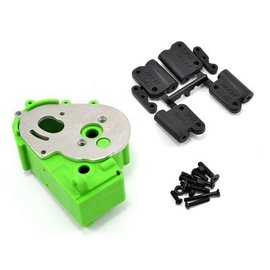 RPM R/C Products Hybrid Green Gearbox Housing & Rear Mounts for 2wd Vehicles