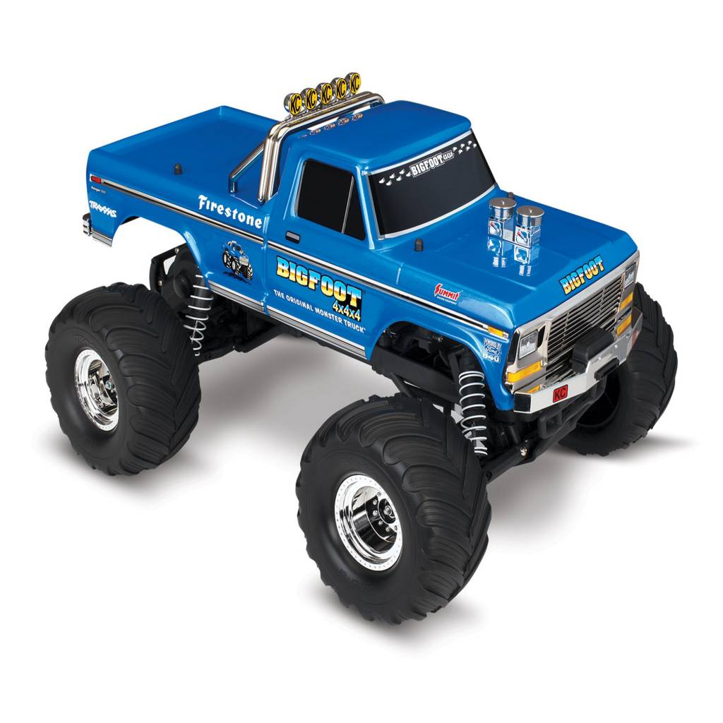 Monster truck toys bigfoot