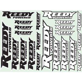 Reedy ASC716 REEDY Factory Sticker Set