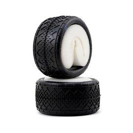 J Concepts Bar Codes V2 Rear 1/10 2.2 Buggy Tires Blue