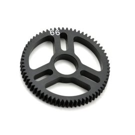 Exotek Racing EXO1543 Flite Spur Gear 48P 66T, Machined Delrin for EXO Spur Gear Hubs