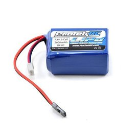 Protek RC Li-POLY HUMP RECEIVER BATTERY PACK (7.4V/2600MAH)(W/BALANCER PLUG)