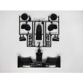 Tamiya CLN1579 F104 front spoiler schwarz