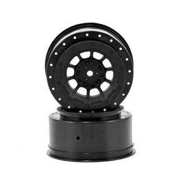 J Concepts JCO3344B  Black Hazard SC6.1 or SC5M Front & Rear Wheel 3mm (2)