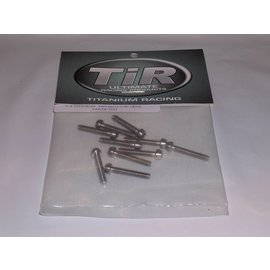 Michaels RC Hobbies Products TIR8811 Titanium 440x16mm Cap Head Screws (10)