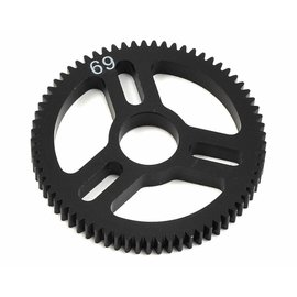 Exotek Racing Flite Spur Gear 48P 69T, Machined Delrin for EXO Spur Gear Hubs