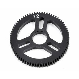 Exotek Racing Flite Spur Gear 48P 72T, Machined Delrin for EXO Spur Gear Hubs