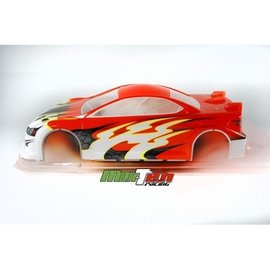 Mon-Tech Racing MB-016-023 IS-200 Pre-Cut XRAY Asphalt Body 190mm