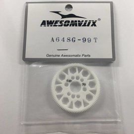 Awesomatix 99T 64p Spur Gear