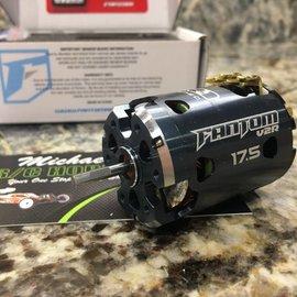 Fantom Racing 17.5 Turn V2R Works Plus Brushless Motor (12.5mm)