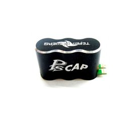 Team Powers Team Powers Aluminum 2S PS Capacitor Black for ESC