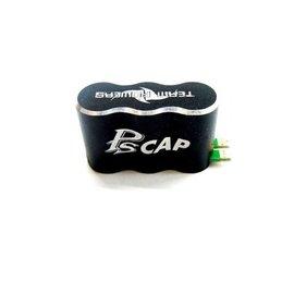 Team Powers Team Powers Aluminum 2S PS Capacitor Black for ESC