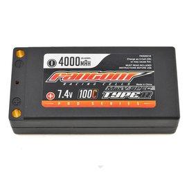 Fantom Racing MaxV-SPEC 4000mAh LiPo 100C Shorty, 7.4v