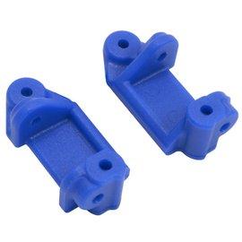 RPM R/C Products RPM80715 Blue Front Caster Blocks (Slash 2wd, Nitro Slash, e-Rustler & e-Stampede 2wd)