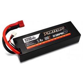 Fantom Racing MaxV-SPEC PRO Series LiPo 6200mAh, 7.4v, w/Deans Plugs