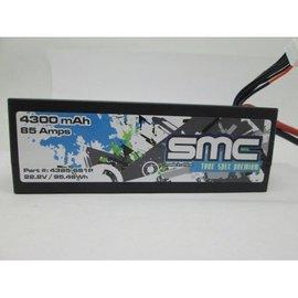 SMC True Spec Premium 22.2V 4300mAh 85Amps/90C LIpo w/Deans Plug