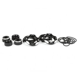 Avid RC B6, B5M, T5M Shock Kit Black