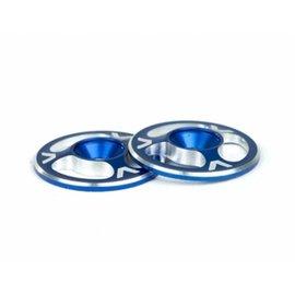 Avid RC AV1060-BLU  Triad Wing Buttons Blue M3 (2)