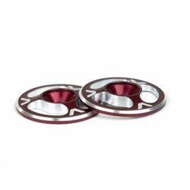 Avid RC Triad Wing Buttons Red M3 (2)