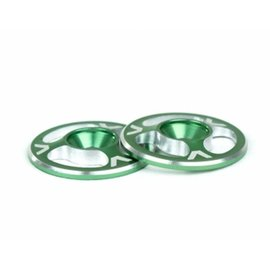 Avid RC Triad Wing Buttons Green M3 (2)