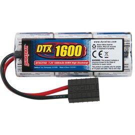 Duratrax NiMH 7.2V 1600mAh 2/3A Stick 1/16 TRA Plug