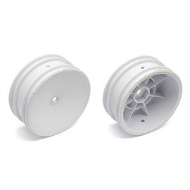 Team Associated BUGGY FRONT 12MM HEX WHEEL 2.2 WHITE
