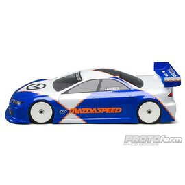 Protoform PRM1487-00 Mazda Speed 6 Regular Weight Touring Car Clear Body 190mm