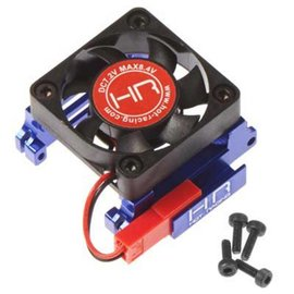 HOT RACING Velineon VXL-3 ESC Heat Sink, High Velocity Fan