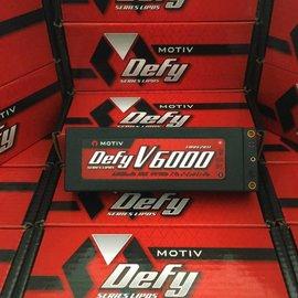 "MOTIV ""DEFY"" V6000 (2 CELL, 7.4V, 6000MAH, 100C)"