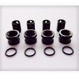 Gravity RC LLC GRC298 Body Height Adjustment System, 6mm (2) Black