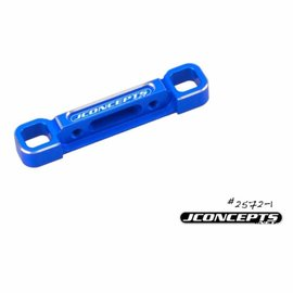 J Concepts B6/B6D Rear Suspension D-Mount Blue Aluminum