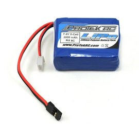 Protek RC PTK5171 LiPo Losi 8IGHT Receiver Battery Pack (7.4V/2000mAh)