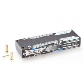 ORCA OPL551HV  Power Plus LCG HV 5500mAh 7.6V 2S 100C Lipo Battery