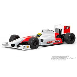 Protoform PRM1537-30 Thirteen Clear Body, for 1/10 Formula 1