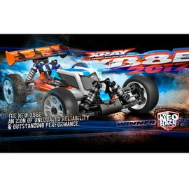 Xray XB8E 2017 Spec Luxury 1/8 Electric Off-Road Buggy Kit