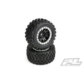 Proline Racing PRO10131-13 Badlands MX43 Pro-Loc Impulse Mounted Tires