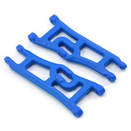 RPM R/C Products RPM70665 Blue Wide 2wd Front A-arms for e-Rustler & Stampede