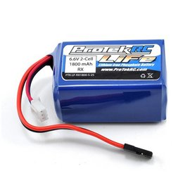 Protek RC PTK-5162 LiFe Hump Receiver Battery Pack (6.6V / 1800mAh w/ Balancer Plug)