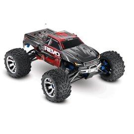Traxxas 1/10 Revo 3.3 4WD Nitro RTR w/Tqi Red