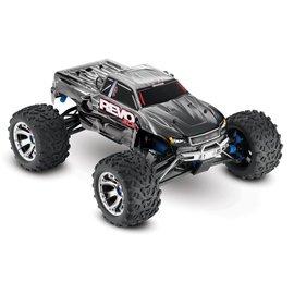 Traxxas 1/10 Revo 3.3 4WD Nitro RTR w/Tqi Silver