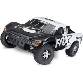 Traxxas Slash 4X4 1/10 VXL Truck, RTR W/On Board Audio Fox White